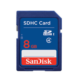 Sandisk Sandisk 8GB Micro SDHC Memory Card