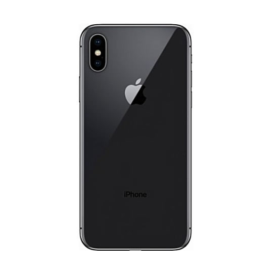 Apple iPhone X 5 8-Inch HD (3GB,64GB ROM) IOS 11, 12MP + 7MP 4G Smartphone  - Space Grey
