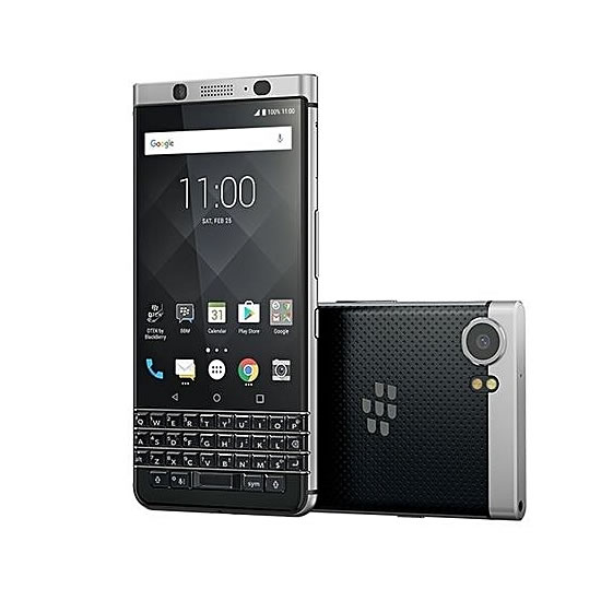 BlackBerry KEYone 4 5-Inch IPS (3GB, 32GB ROM) Android 7 1 Nougat, 12MP +  8MP 4G Smartphone - Black