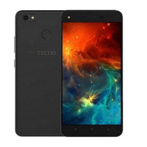 Tecno Spark K7 5.5-Inch HD (1GB, 16GB ROM) 13MP + 5MP, Android 7.0 Nougat Dual SIM 3G Smartphone - Black