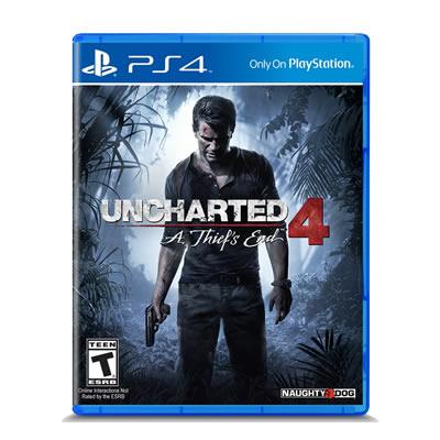 playstation 4 Uncharted 4 A thief end ugosam